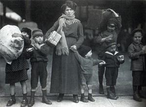 Emigranti Italiani in Usa, 1900