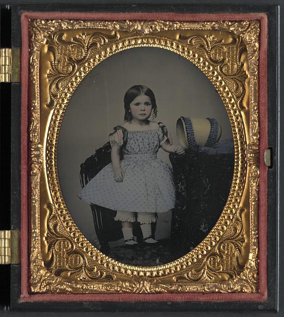 Dora Allison, Little Miss Bonnie Blue, the light of the Confederacy 1863