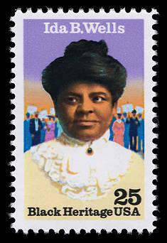 francobollo commemorativo Ida B. Wells