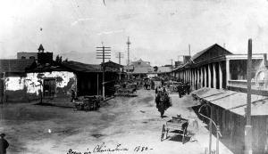 Calle de los negros 1880
