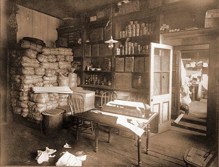 retrobottega negozio Chinatown 1880