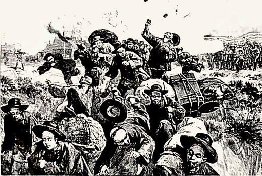 La verità sul massacro di Los Angeles ,1871