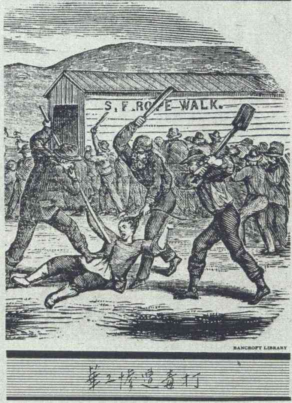 Anti Chinese riot Los Angeles 1871