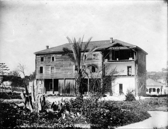 The Plaza casa di Benjamin Winters, 1869