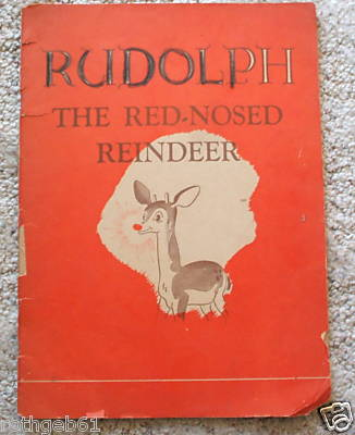 Rudolph the red nosed reindeer, 1939