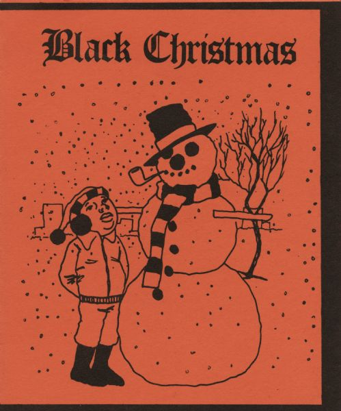 Afro American Christmas cards