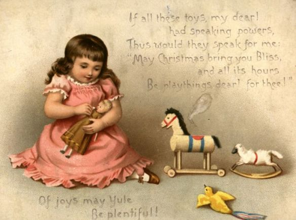 American Christmas card 1873