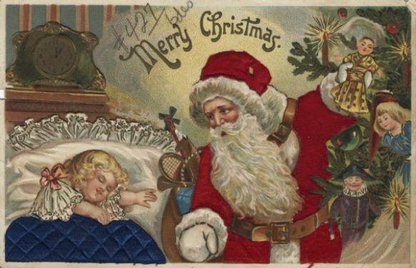 American Christmas card 1909