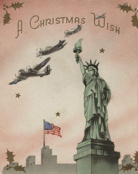 American Christmas card 1942