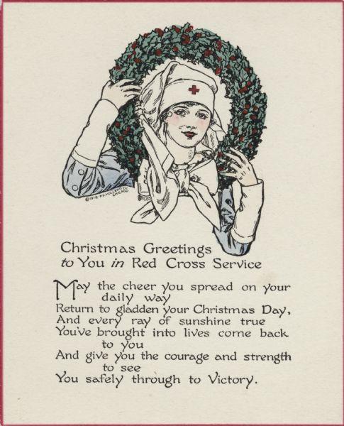 Card Croce Rossa 1917