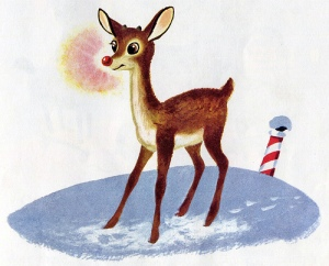 Rudolph the rede noise reindeer by Richard Scarry