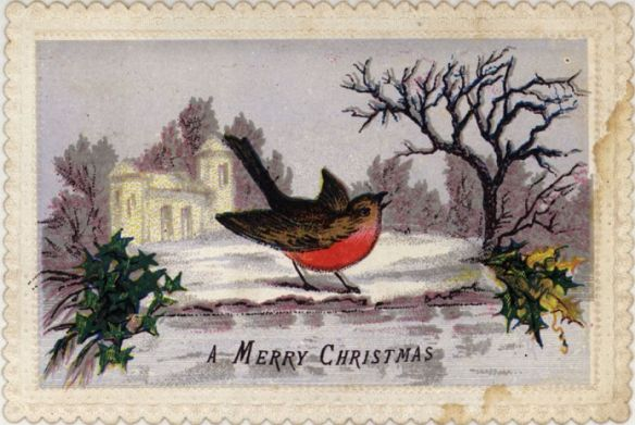 Victorian Christmas card