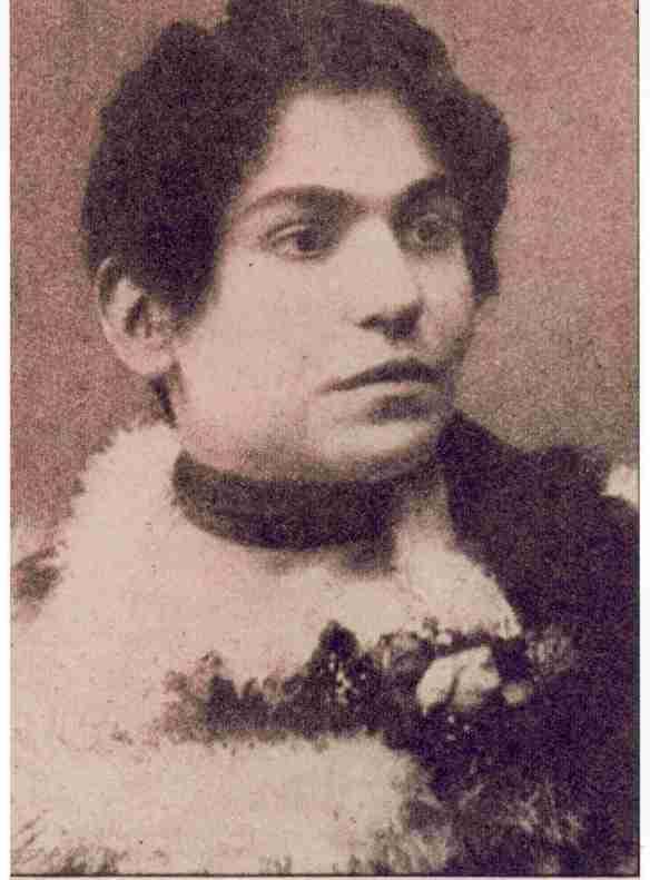 Ida Peruzzi moglie di Salgari