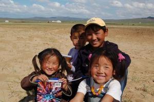 Bambini Monti Altaj