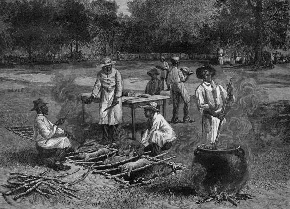 A_Southern_Barbecue  Horace Bradley 1887